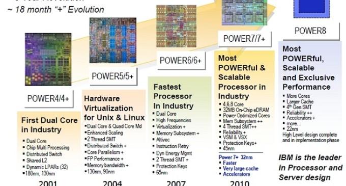 El chip IBM Power8 se licenciará a terceros