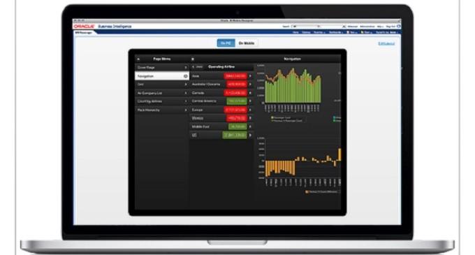 Oracle presenta BI Mobile App Designer, una nueva herramienta de diseño