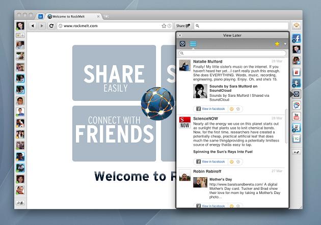 RockMelt, el navegador social, es adquirido por Yahoo!