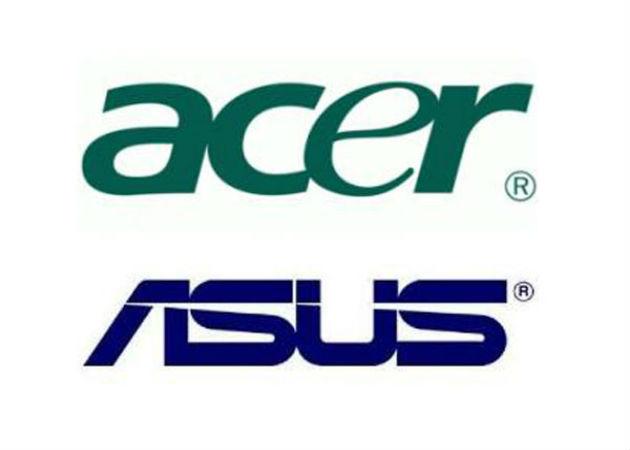 Acer y Asus estudian una posible fusión