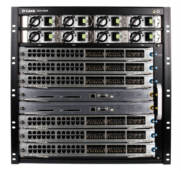 D-Link_DGS-6608_Chassis_Switch_Terabit