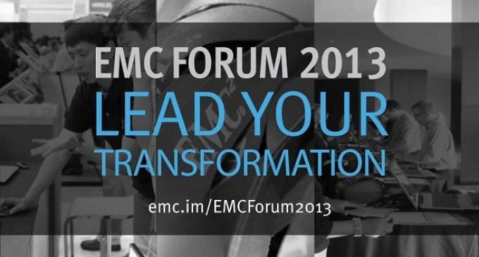 EMC convoca su congreso anual EMC Forum 2013