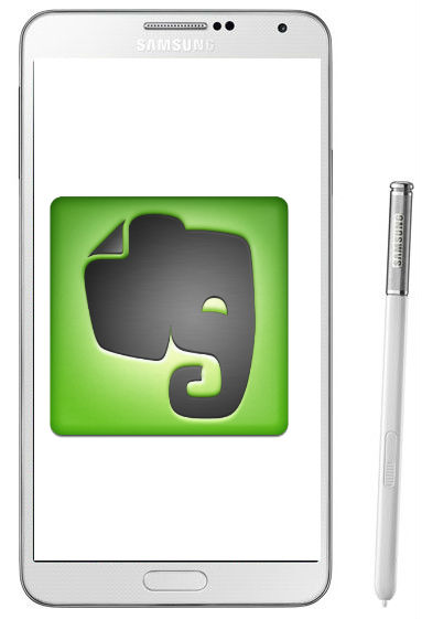 Evernote se integra en Samsung Galaxy Note 3