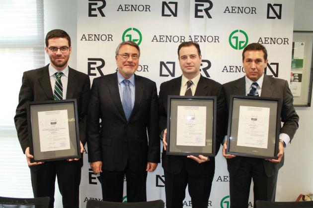 AENOR concede los primeros certificados de calidad del producto software