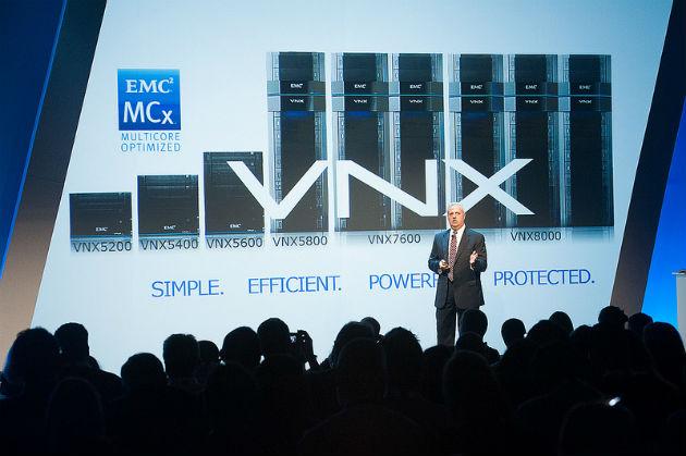 Nuevo EMC VNX, almacenamiento unificado