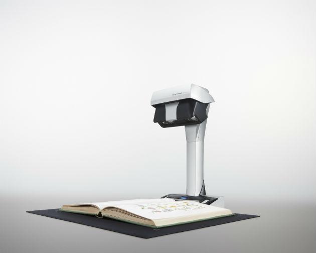 Fujitsu ScanSnap SV600, nuevo escáner cenital con tecnología híbrida