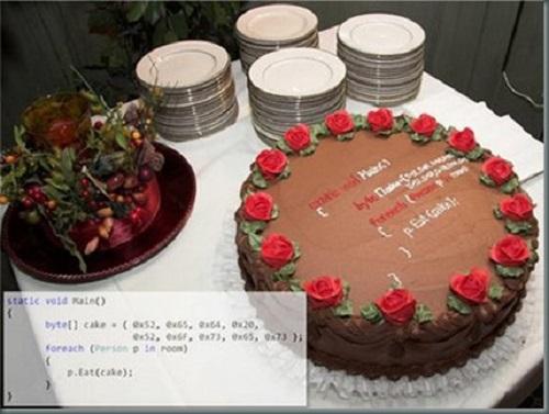 Tarta para programador