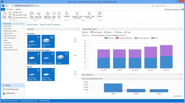 Microsoft Dynamics Nav 2013 estará disponible en octubre