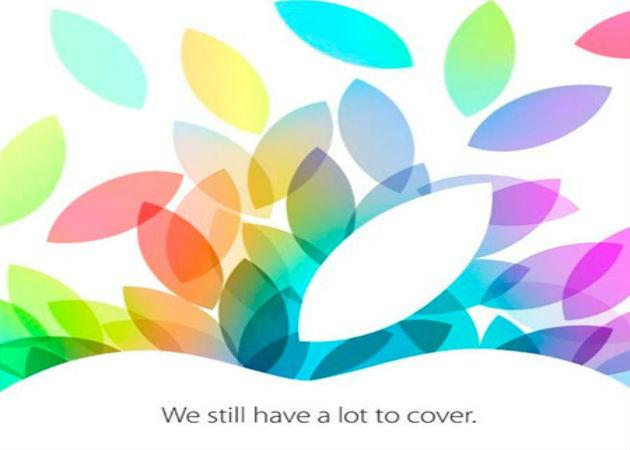 Confirmado, la Keynote de Apple será el 22 de octubre