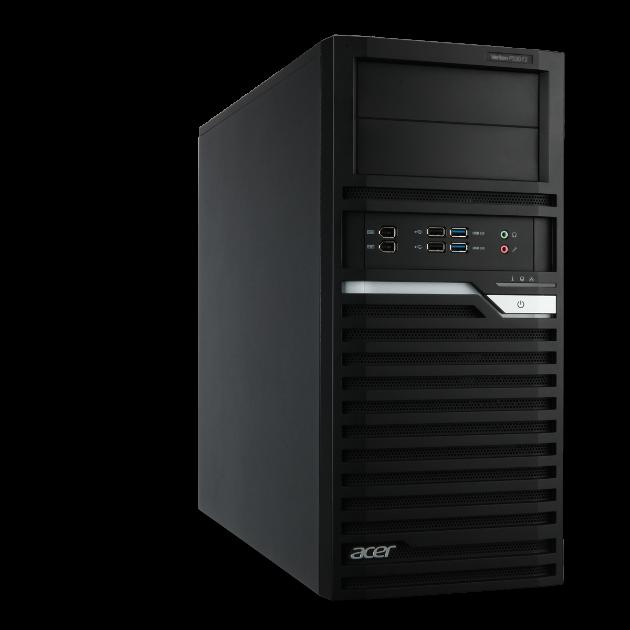 Nuevas estaciones de trabajo en el portfolio profesional de Acer