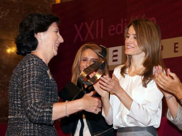 """Helena Herrero, presidente de HP en España y Portugal, premiada como """"Mujer Directiva 2013"""""""