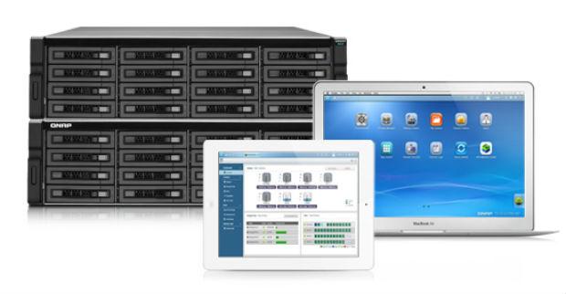Sistema operativo QTP 4.0 para Turbo NAS profesionales