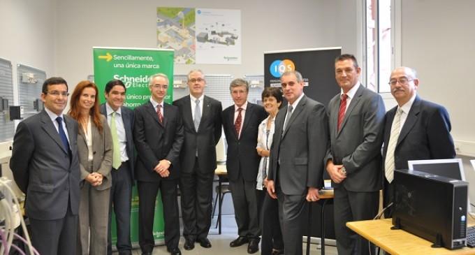 Aula Schneider Electric IQS: formación práctica sobre automática con aplicación a eficiencia energética
