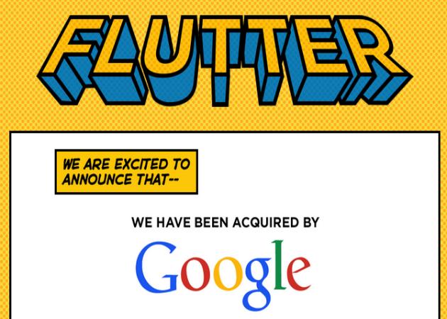 Google compra la startup de reconocimiento gestual Flutter