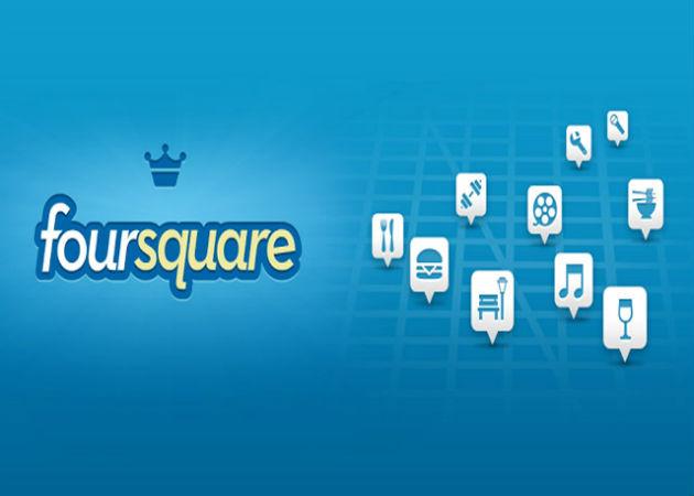Foursquare permite que todas las empresas se anuncien en su red social