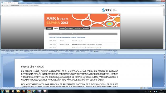 SAS galardona a El Corte Inglés con el Premio Nacional a la Excelencia en Business Analytics 2013