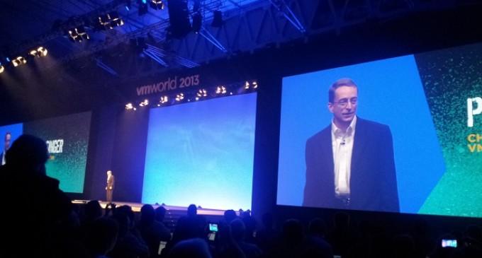 Pat Gelsinger, CEO de VMware, presenta el datacenter definido por software