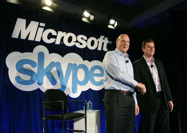 Microsoft no gestionará el servicio de Skype en China