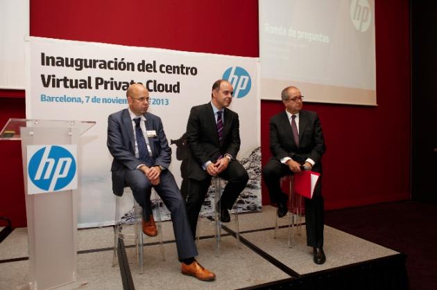 HP inaugura en Barcelona su primer centro de Virtual Private Cloud