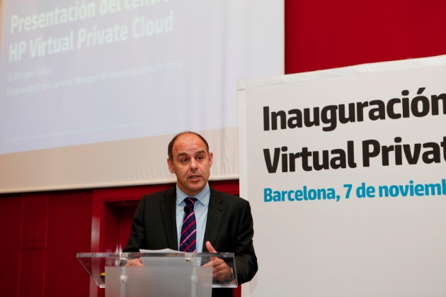 HP inaugura en Barcelona su primer centro de Virtual Private Cloud