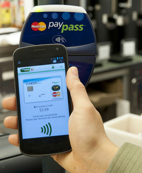MasterCard PayPass Wallet Services - NFC POS