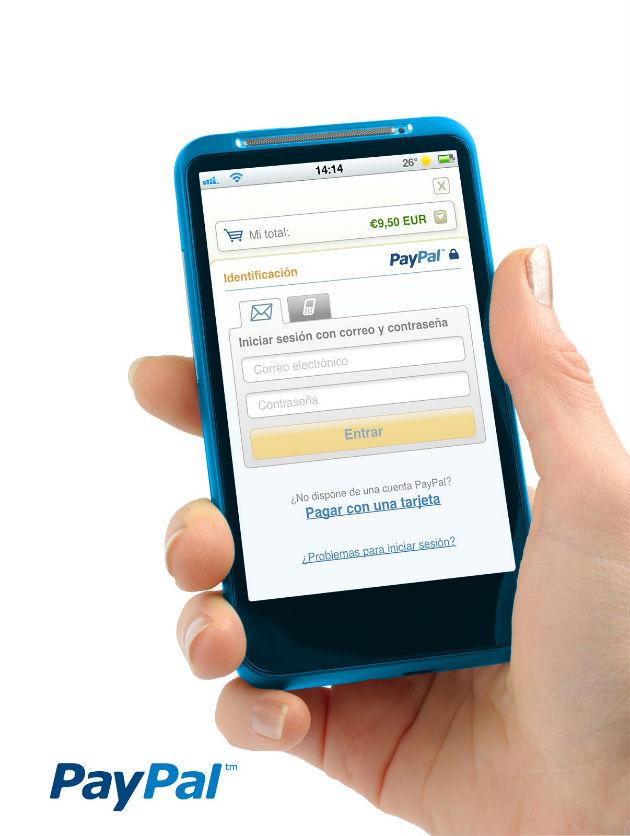 PayPal en el movil