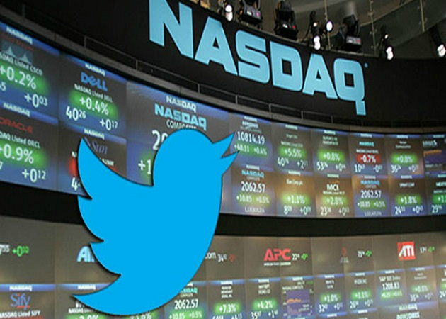 Twitter entra en Bolsa a 26 dólares