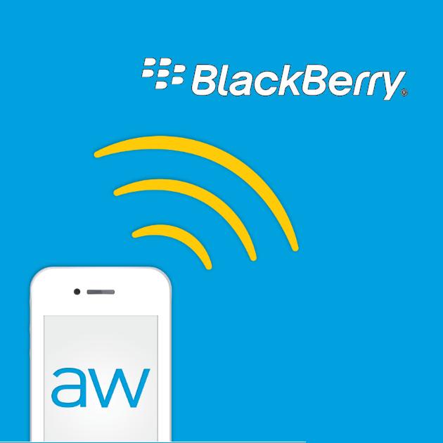 AirWatch está interesada en el servicio de seguridad de BlackBerry
