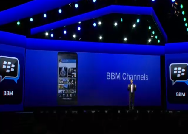 BlackBerry lanza su red social BBM Channels