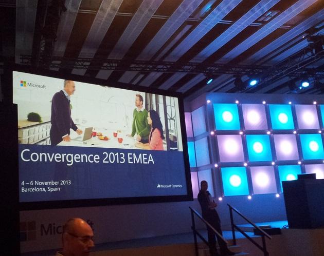 Las imágenes de Convergence 2013 EMEA, el evento de Microsoft Dynamics