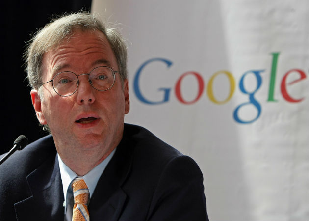 Eric Schmidt predice que la censura acabará en 10 años