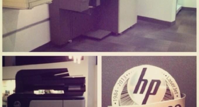 HP ha lanzado un total de 200 millones de impresoras HP LaserJet