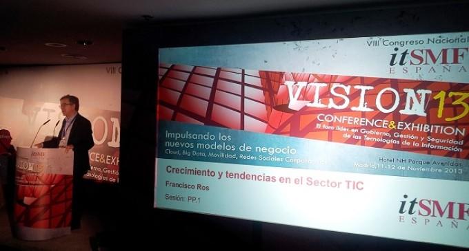El Congreso VISION13 de itSMF analiza los nuevos modelos de negocio