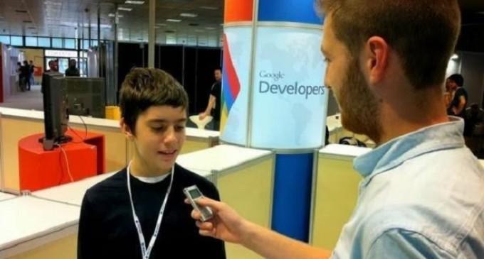 Nikos Adam, el nuevo programador de Google de 12 años