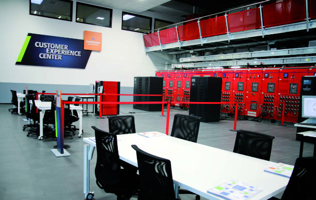 Emerson Network Power invierte 5 millones de euros en su nuevo Customer Experience Centre