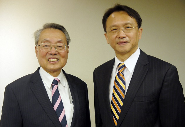 Stan Shih y Jason Chen