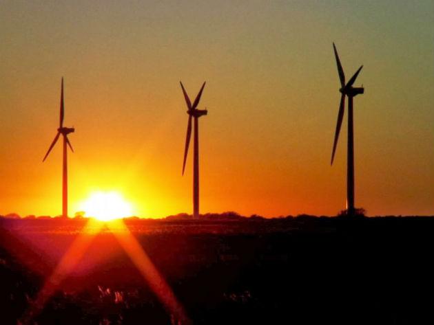 Gulf Wind sunset