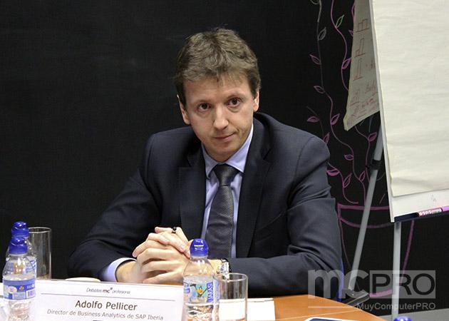 """Adolfo Pellicer, de SAP: """"El analytics está muy enfocado en la parte de marketing pero va más allá"""""""