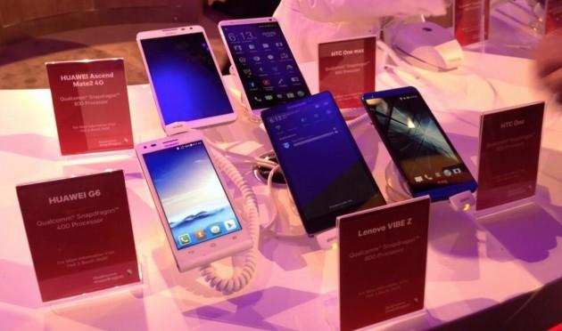 MWC 2014: los móviles gigantes imponen su ley en Barcelona
