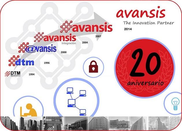Avansis cumple 20 años como integrador de soluciones y servicios IT