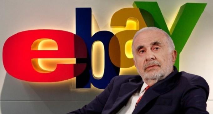 """Carl Icahn: """"La política de manejo empresarial de eBay es disfuncional. Pongamos fin a esta farsa"""""""