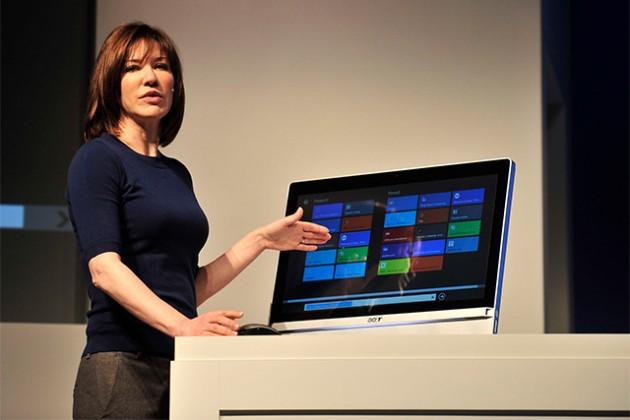 La diseñadora de Windows cambia de puesto dentro de Microsoft