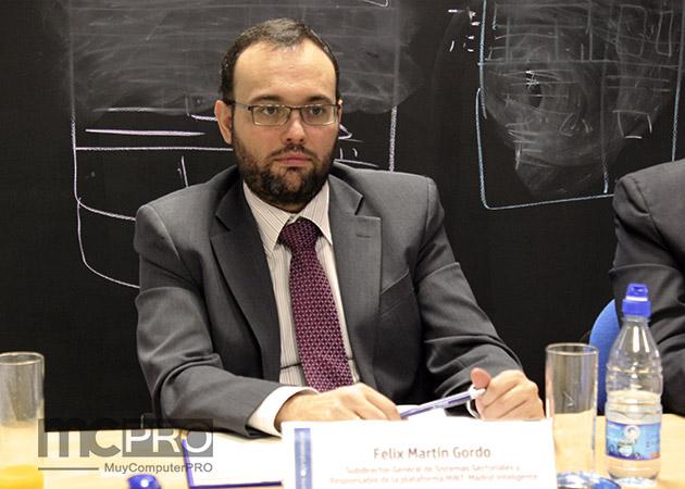 """Felix Martín del Ayuntamiento de Madrid """"El ciudadano es el protagonista de las ciudades inteligentes"""""""