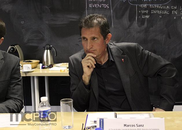 """Marcos Sanz del Ayuntamiento de Rivas Vaciamadrid """"la administración del futuro pasa por aquí"""""""