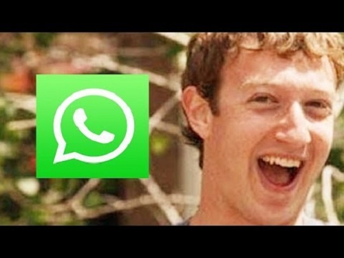 zuckerberg y whatsapp