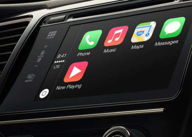 Apple llega a los coches con CarPlay