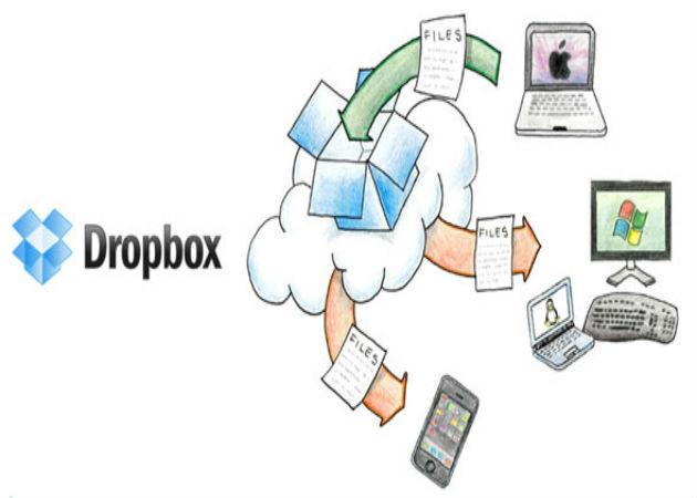 Dropbox permitirá cambiar entre cuentas personales y profesionales