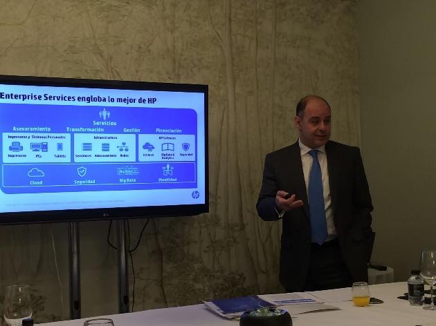 """Enrique Solbes: """"En HP Enterprise Services el cliente es lo primero"""""""