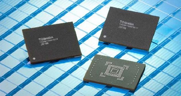 memoria flash NAND de Toshiba