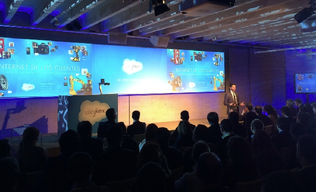 "Salesforce celebra en Madrid su Essentials Tour hablando del ""Internet de los clientes"""